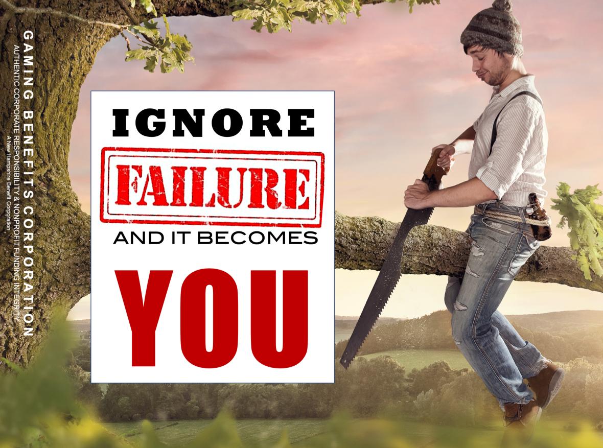 acknowledge failure by tara sue