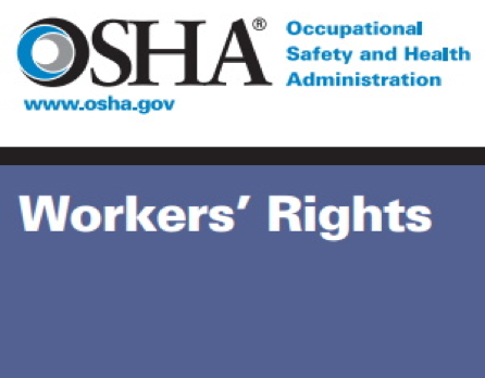 osha workers rights and face masks